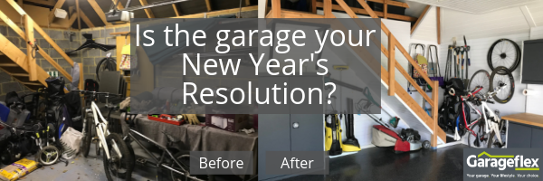 Is the garage your New Year's Resolution_