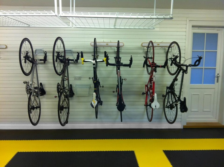 garage home gym bike storage options january 2019
