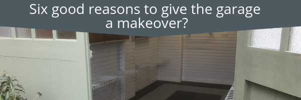 Blog Six good reasons to give the garage a makeover_