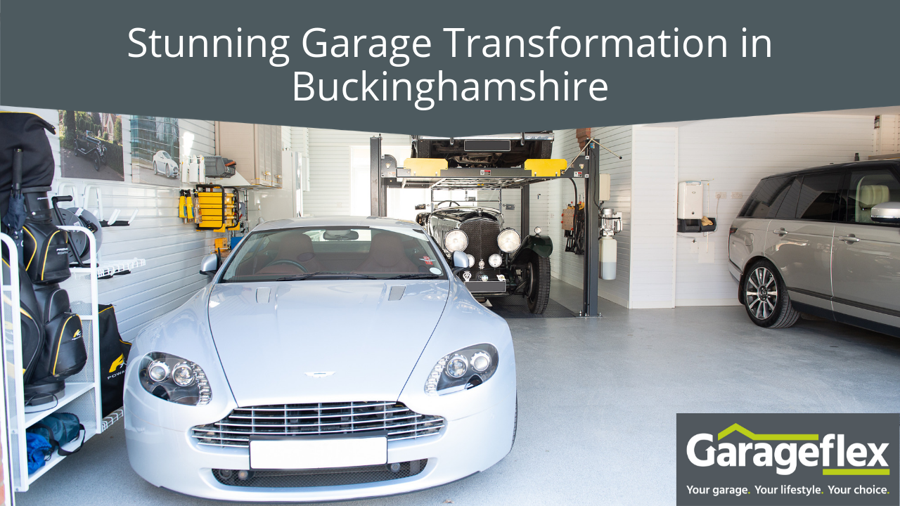 Stunning Garage Makeover in Buckinghamshire by Garageflex