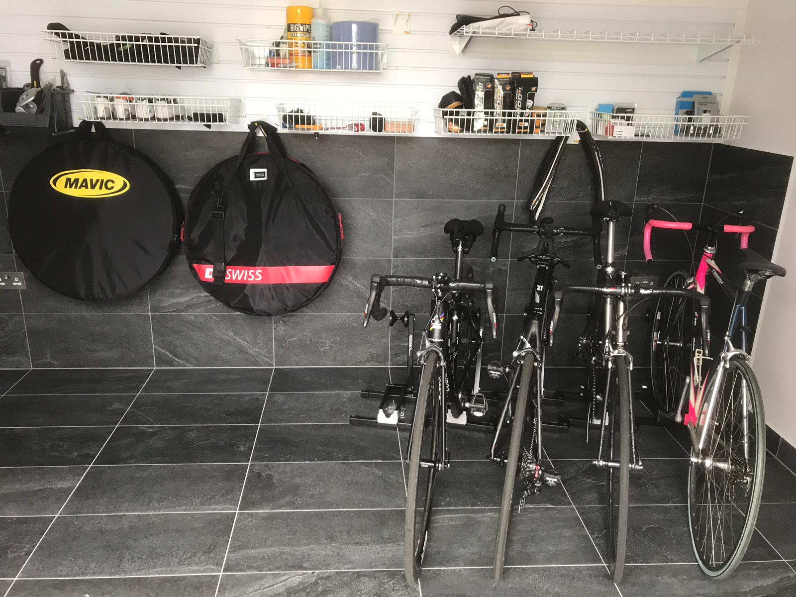 Bike Storage Solutions for your garage wall