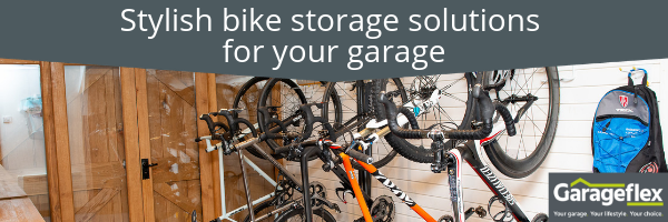 Stylish bike storage solutions for your garage