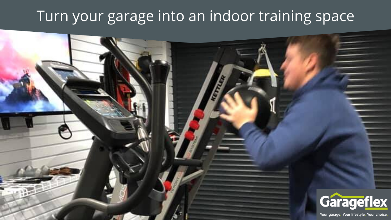Turn your garage into an indoor training space