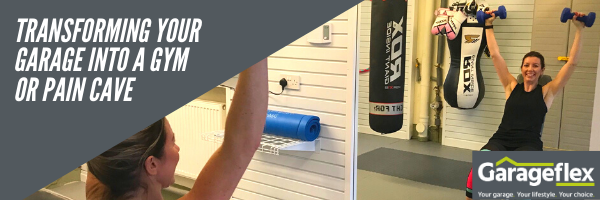 Transforming your garage into a gym or pain cave