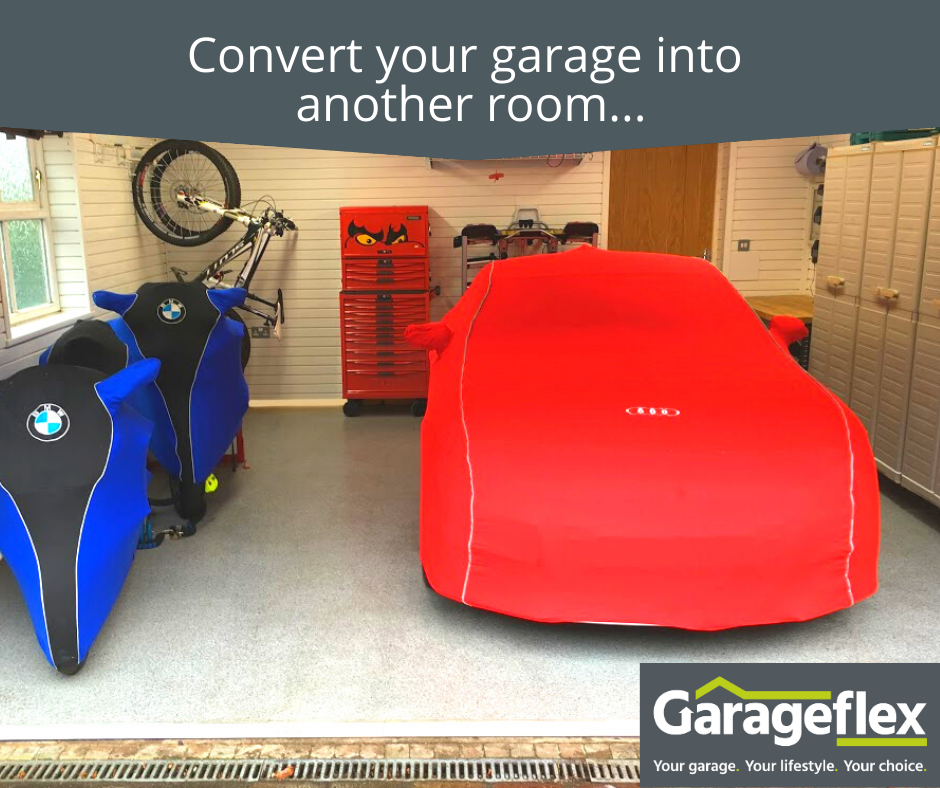 Convert your garage into another room