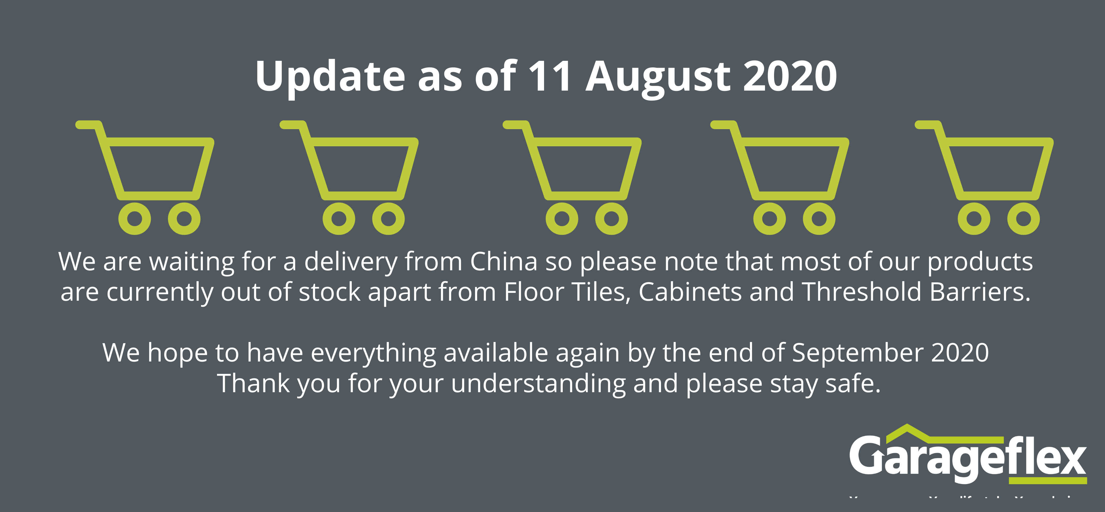 E-store update august 2020