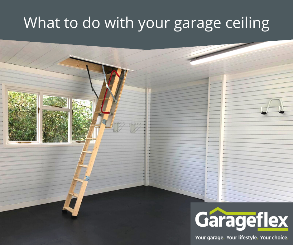 What to do with your garage ceiling