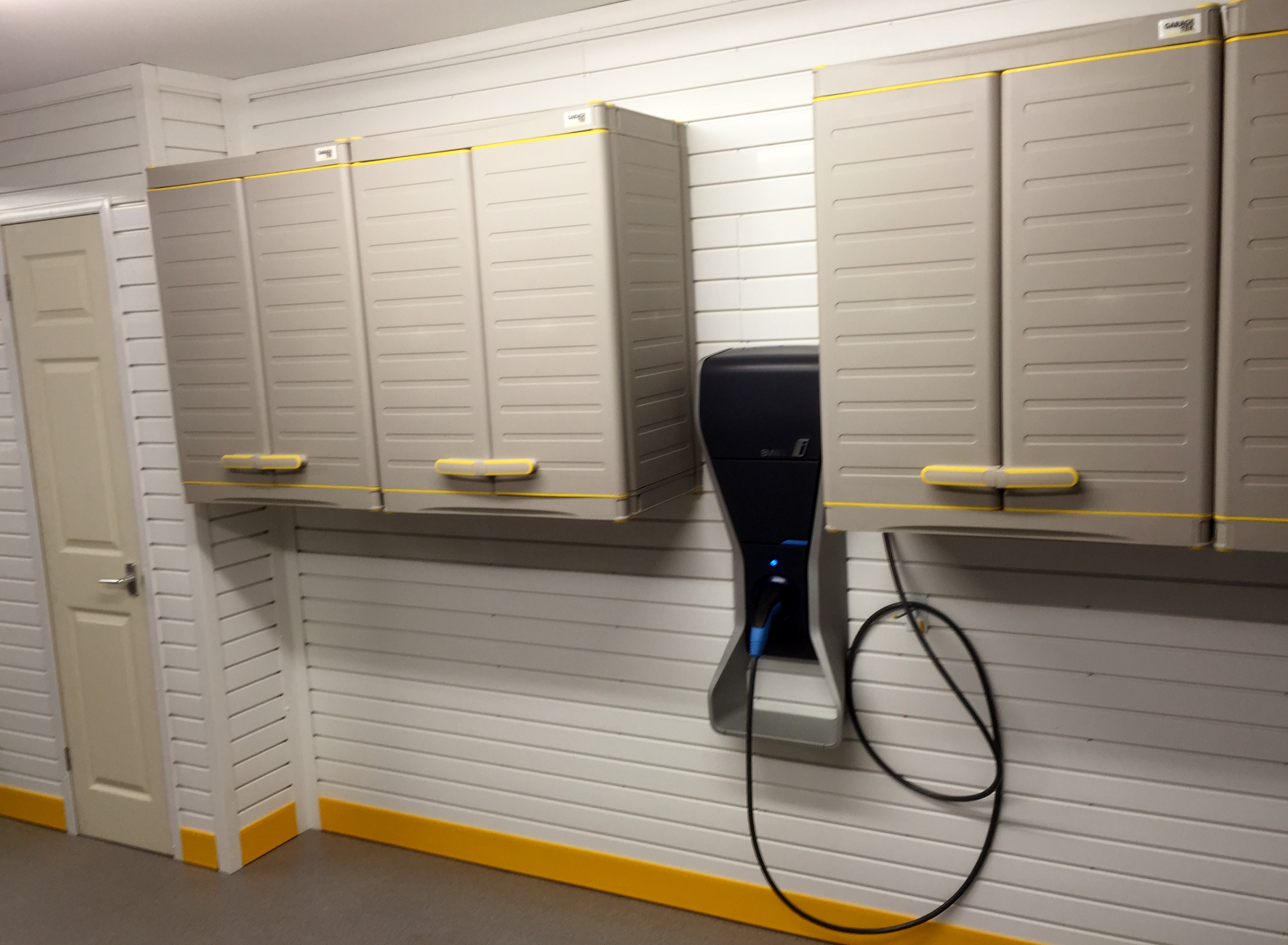 Electric Car Charging Point Garage