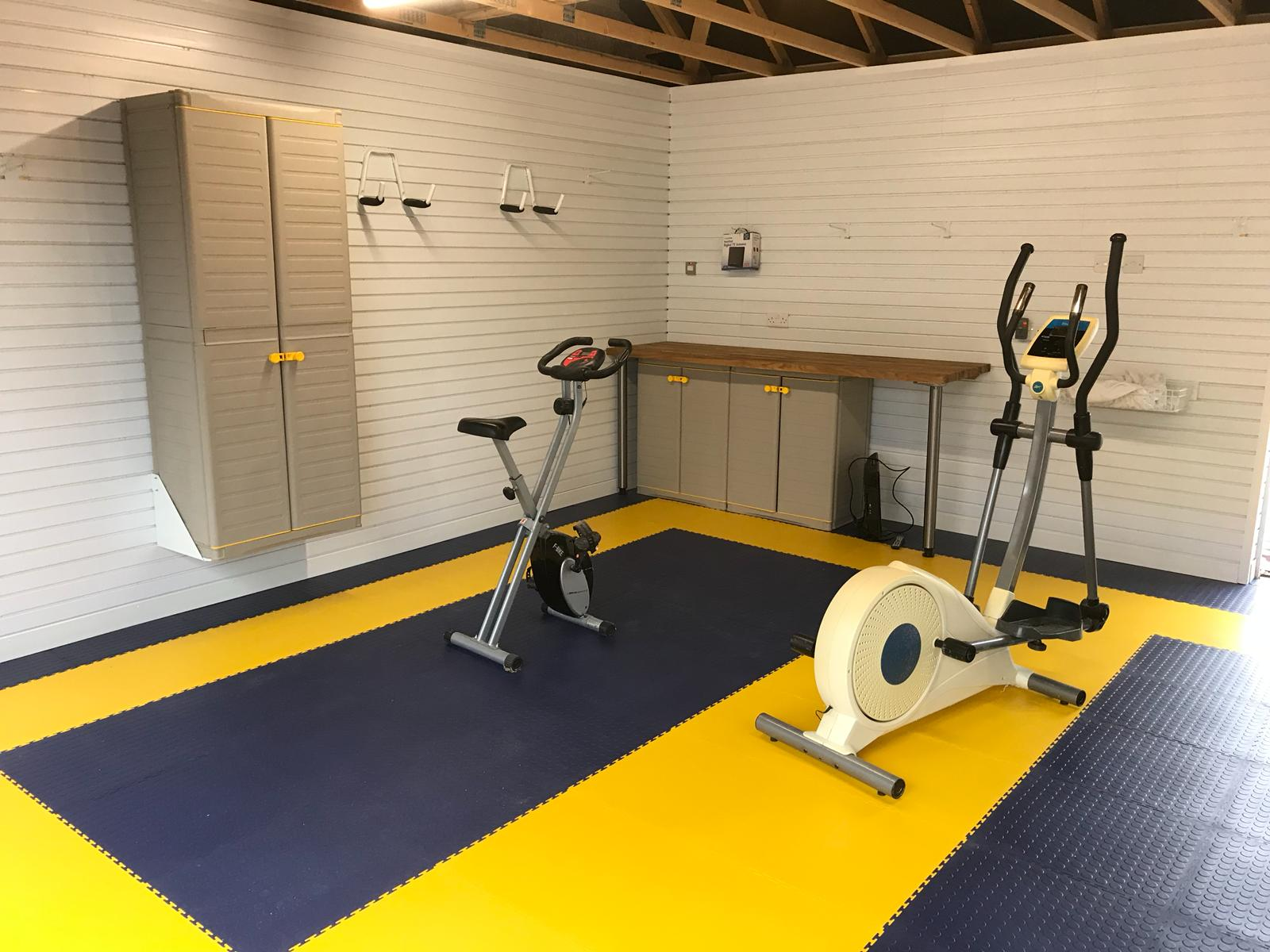 South West Gym Installation