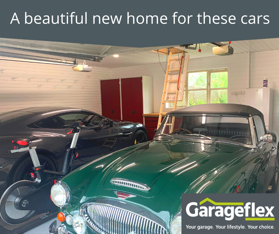Leicestershire garage makeover