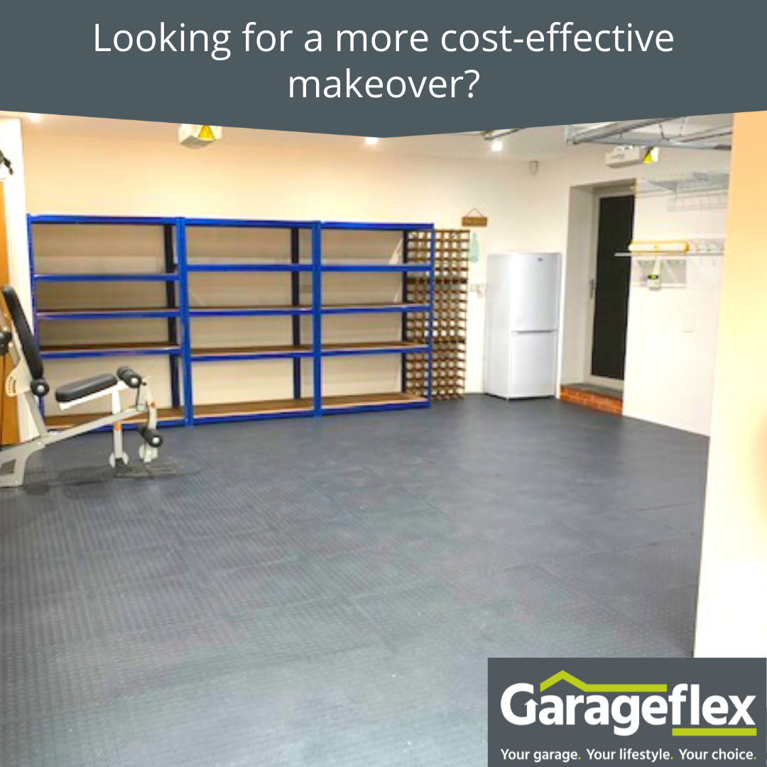 Looking for a more cost-effective garage makeover?