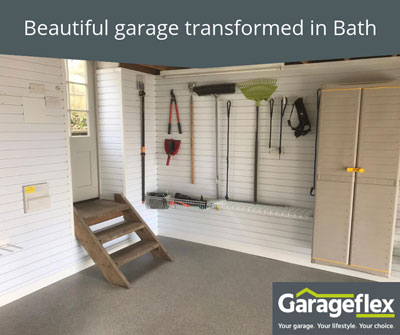 Beautiful garage transformed in Bath