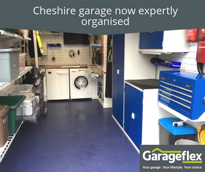 Cheshire Garage Now Expertly Organised