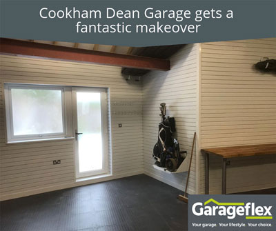 Cookham Dean Garage gets a fantastic makeover