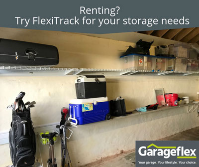 Renting? Try FlexiTrack for your storage needs