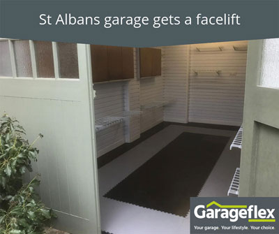 St Albans Garage Gets a Facelift