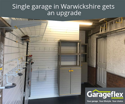 Single Garage in Warwickshire Gets an Upgrade