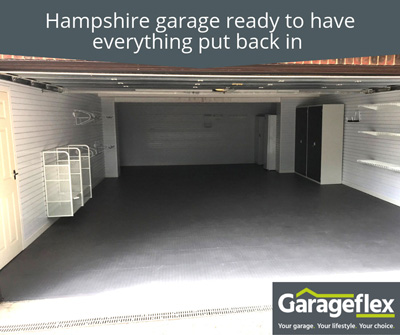 Hampshire Garage Ready To Have Everything Put Back In