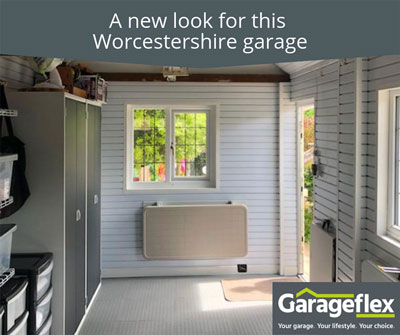 A new look for this Worcestershire garage