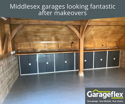 Middlesex garages looking fantastic after makeovers