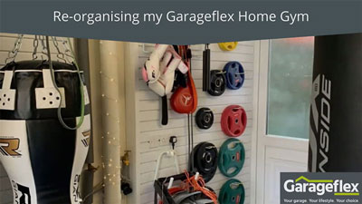 Re-organising my Garageflex Home Gym