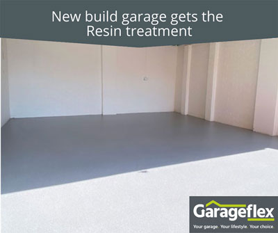 New build garage gets the Resin treatment