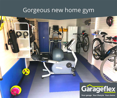 Gorgeous Home Gym Installation
