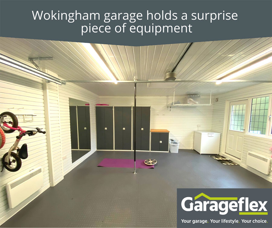 Wokingham garage holds a surprise piece of equipment!