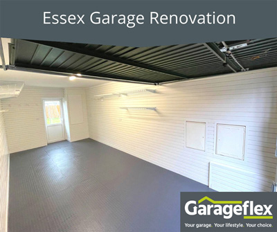 A great before and after Essex Garage Renovation