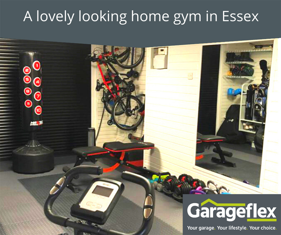 A lovely looking home gym in Essex