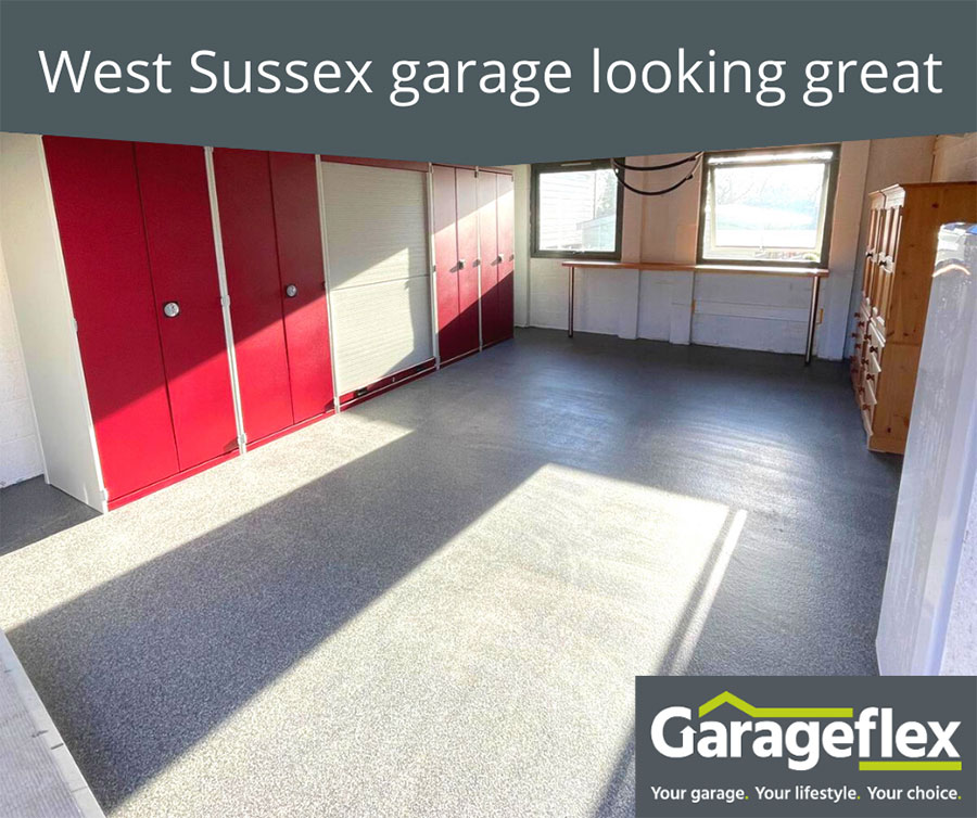 West Sussex garage looking great