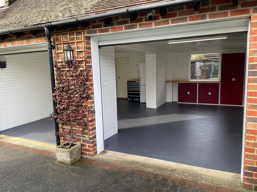 Sussex garage shapes up nicely