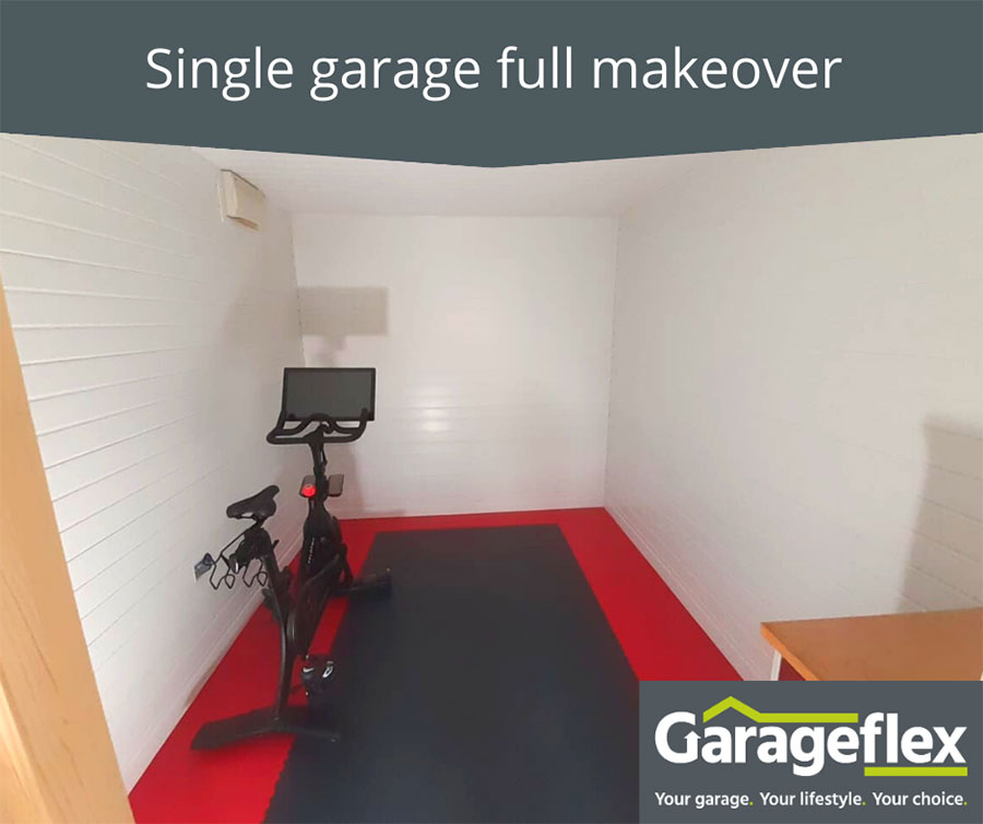 Single garage full makeover