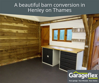 A beautiful barn conversion in Henley on Thames