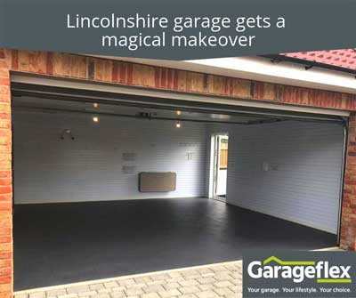Lincolnshire garage gets a magical makeover