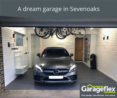 A dream garage in Sevenoaks