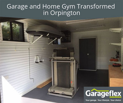 Garage and Home Gym Transformed in Orpington