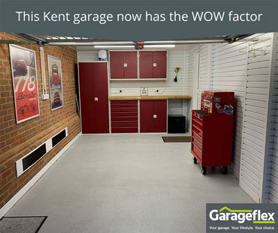 This Kent garage now has the WOW factor