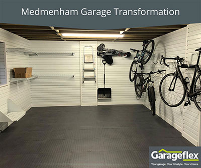 Medmenham Garage Transformation