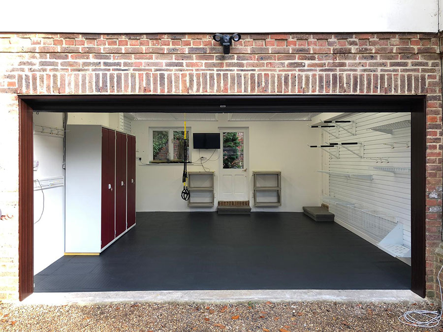 An Organised Double Garage in Camberley