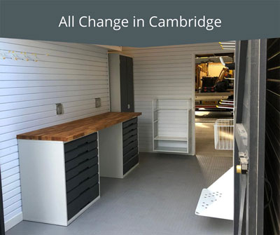 All Change in Cambridge