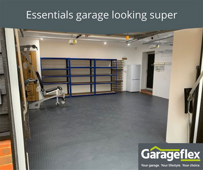 Essentials garage looking super