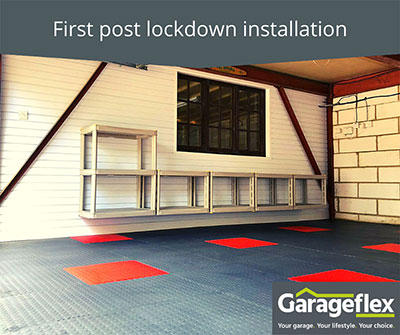 First post lockdown installation