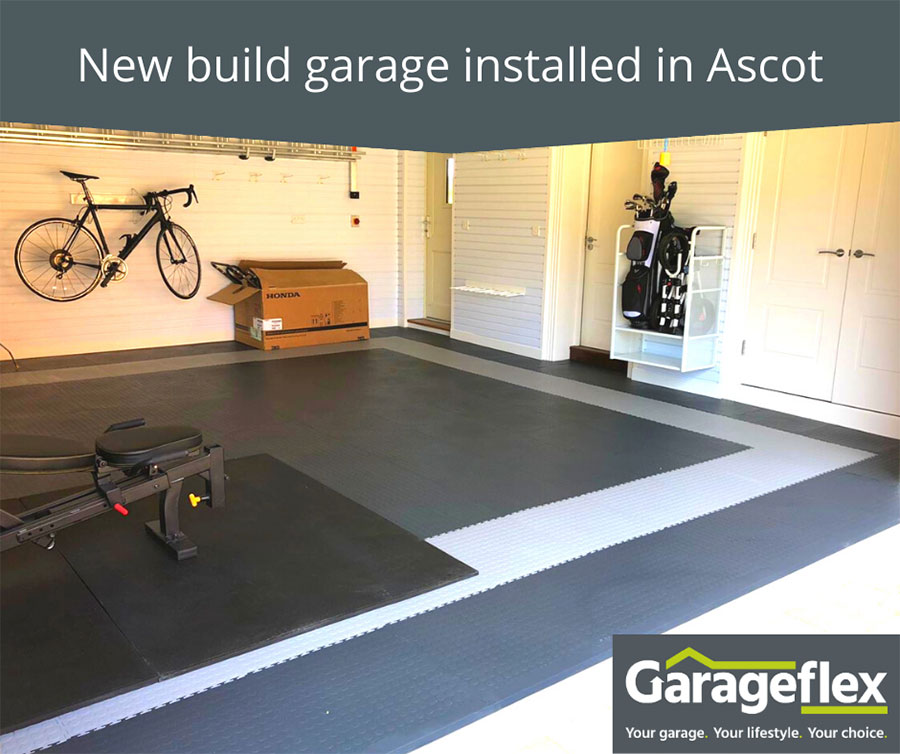 New build garage installed in Ascot
