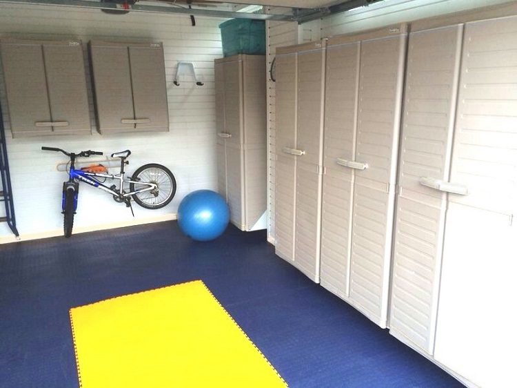 Want to turn your garage into a home gym? heres some inspiration