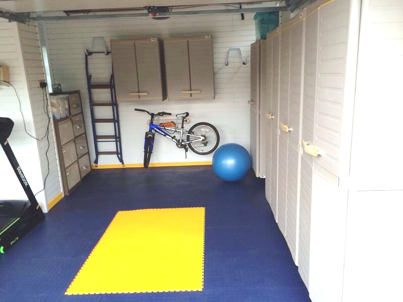 Want to turn your garage into a home gym here s some inspiration
