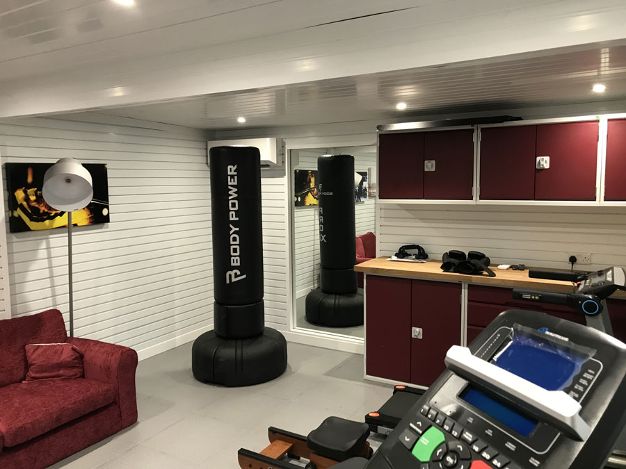 Transform your garage into a gym