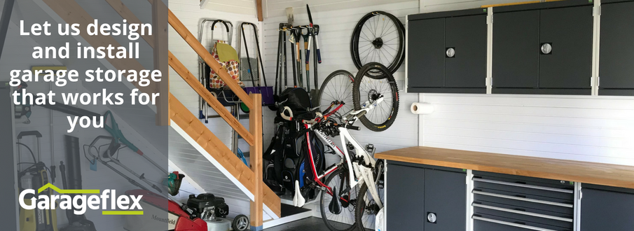 Let us design and install garage storage that works for you