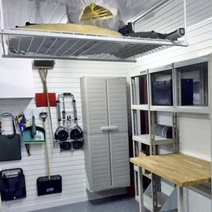 Garage Ceiling Storage Solutions
