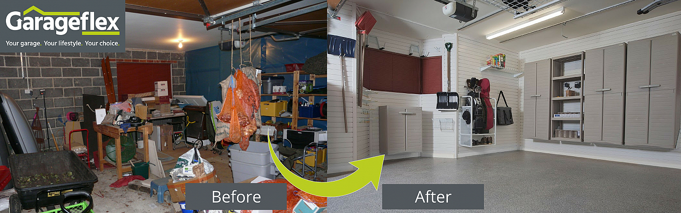 Complete Garage Makeover